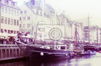 Embarkation port in Copenhagen