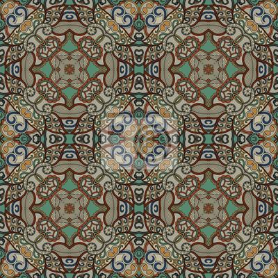 Endless geometrischen Hintergrund. Zier-Muster