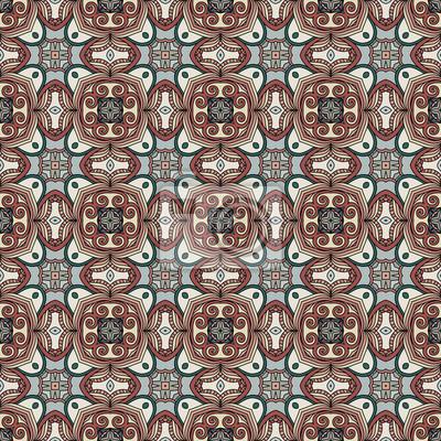 Endless Muster Hintergrund. Arabisch Design