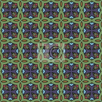 Endless Muster Hintergrund. Ethnische Design