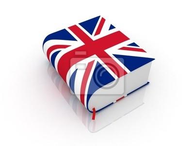 Englisch Buch Notebook Sticker Wandsticker Wortschatz Leser
