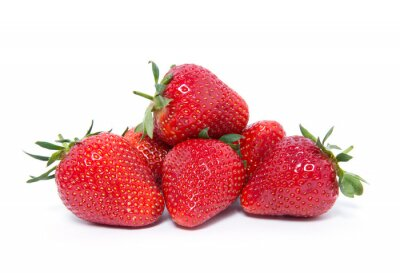 Sticker Erdbeere
