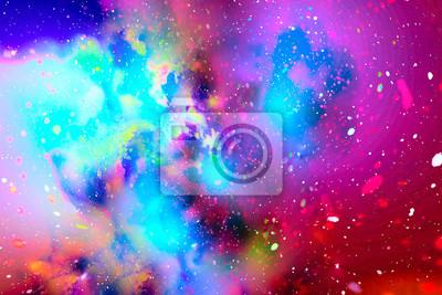Erstaunliche Galaxieansicht. Wissenschaft.