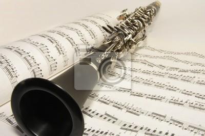 Lappen und Klarinette