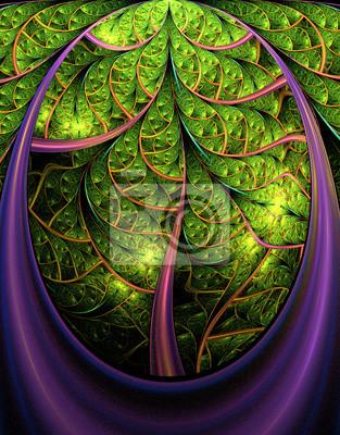 Fabulous Baum. Computer generierte Grafiken.