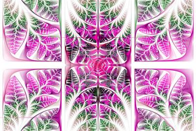 Fabulous fraktalen Muster. Collection - Baum Laub. Computer-ge