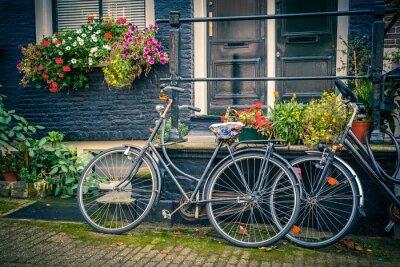 Sticker Fahrräder in Amsterdam