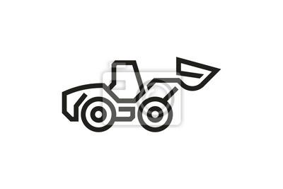 Fahrzeug-Icons: Radlader (Lade-Modus)