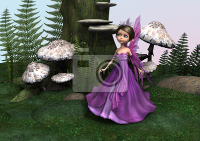 Fairy in Woodland