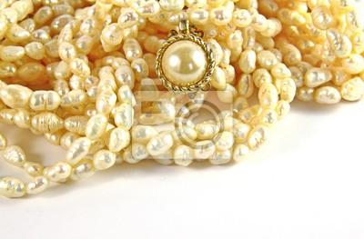 falschen Perlen für die Dekoration