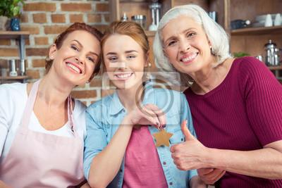 Familie von drei Generationen