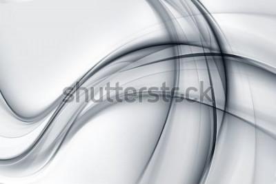 Sticker Fantastische helle weiße graue Tapeten-Zusammenfassung