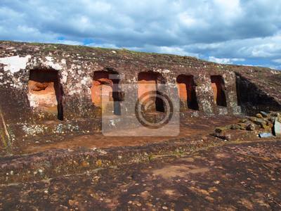 Sticker Felsnischen an Samaipata Festung