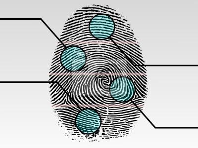 Fingerabdruck scannen