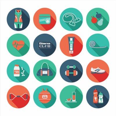 Sticker Flache Bauform