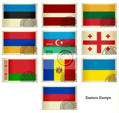 Flag Stamps_Eastern Europa
