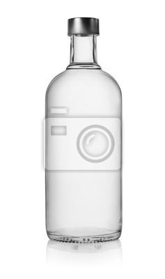 Flasche Wodka isoliert