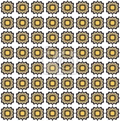 Sticker Fliesen- Textur. Abstrakte nahtlose Hintergrund. Geometrische Muster