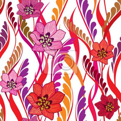 Sticker floral-background-4