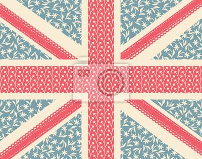 Floral Britische Flagge