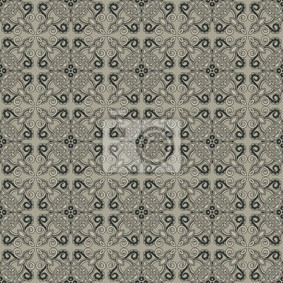 Floral ornamental nahtlose Muster. Arabisch-Design