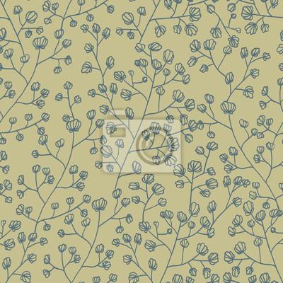 Floral Textur. Nahtlose Muster Hintergrund