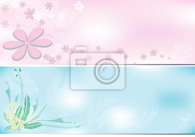Flower background two tone.