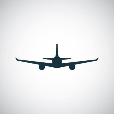 Sticker Flugzeug-Symbol