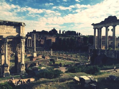 Sticker Forum Romanum, Rom