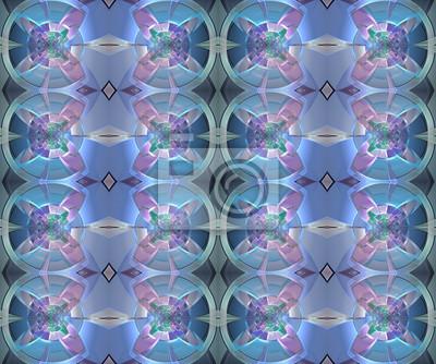 Fractal geometrisches Muster. Computer generierte Grafiken. Kunstwerk