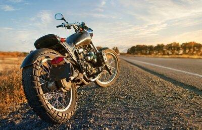 Sticker Freedom.Motorbike unter Himmel