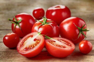 Sticker Frische rote Tomaten