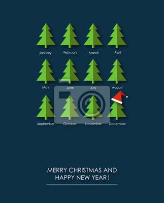 Frohe Weihnachten Und Happy New Year.Sticker Frohe Weihnachten Und Happy New Year Lustige Geschenkkarte