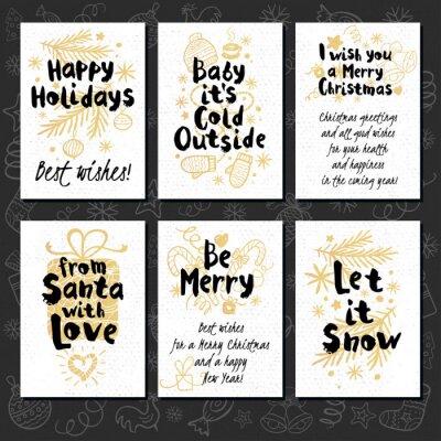 Fröhliche Weihnachten. Frohes neues