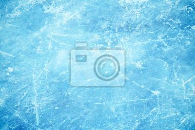 Sticker Frozen Hintergrund von Eis