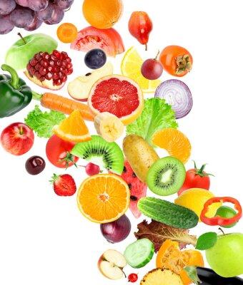 Sticker Früchte und Gemüse