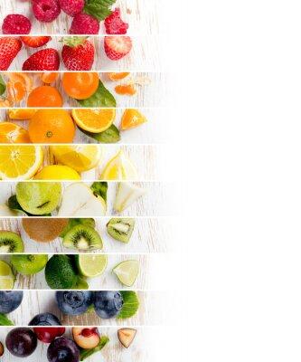 Sticker Fruchtmischungsstreifen