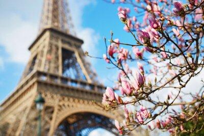 Sticker Frühjahr in Paris