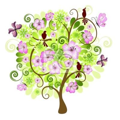 Frühling dekorative Baum