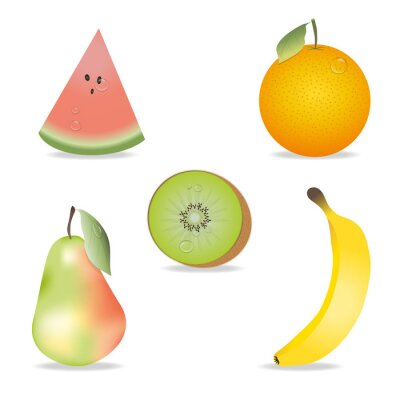 Sticker Fruit Collection