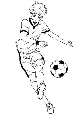 Fußball Fußball vor, Illustration, Logo, Tinte, schwarz und weiß, Kontur, isoliert auf einem weißen