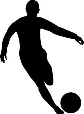 Sticker Fußballspieler