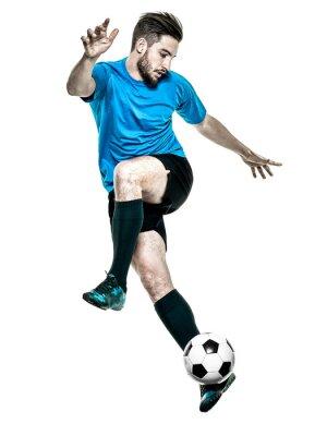 Sticker Fußballspieler Mann Getrennt