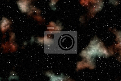 Galaxie und Nebel. Wissenschaft.