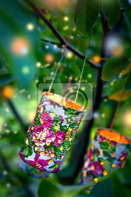 Gartenparty Notebook Sticker Wandsticker Gluhwurmchen Close Up