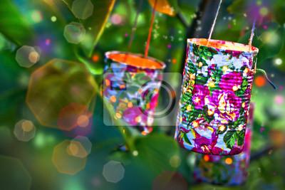 Gartenparty Notebook Sticker Wandsticker Sommer Festival
