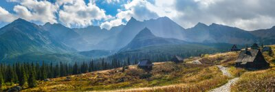 Sticker Gasienicowa im Tatra-Gebirge - Panorama
