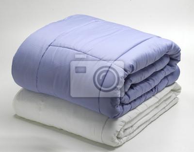 Sticker Gefaltete Bettdecken oder Quilts