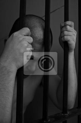 Gefangener im Gefängnis