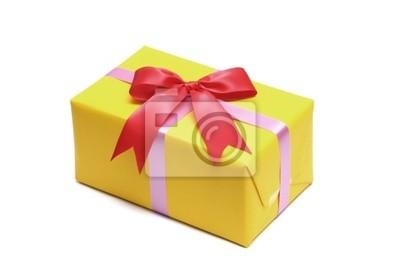 gelb Geschenk boxs
